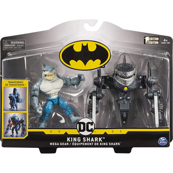 BATMAN FIGURA DE LUJO  KING SHARK 4 PULGADAS 6056718