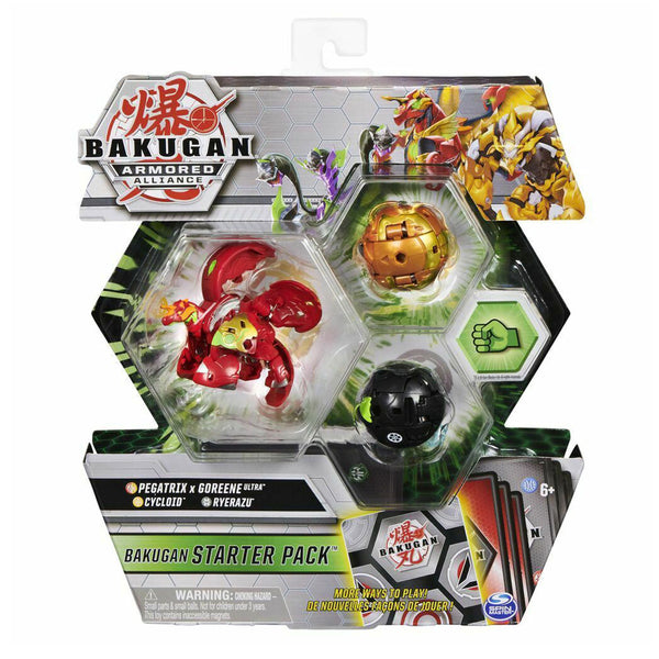 BAKUGAN SET DE INICIO TEMPORADA 2 - PEGATRIX X GOREENE ULTRA 6055886