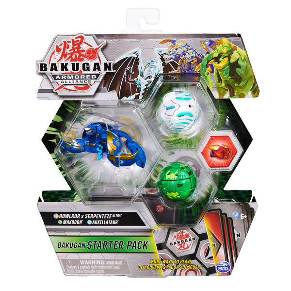 BAKUGAN SET DE INICIO TEMPORADA 2 - HOWLKOR X SERPENTENZE ULTRA 6055886