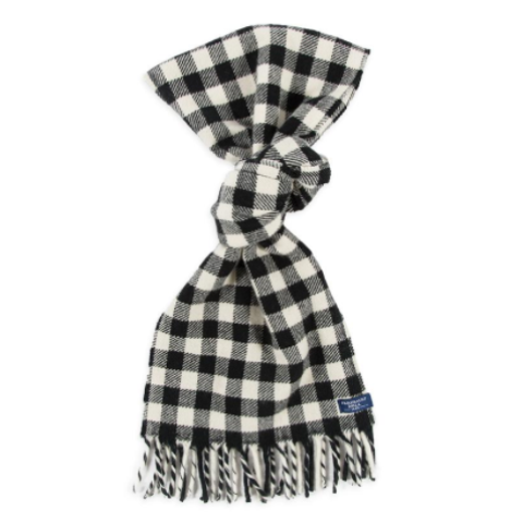 Mini Buffalo Check Wool Scarf