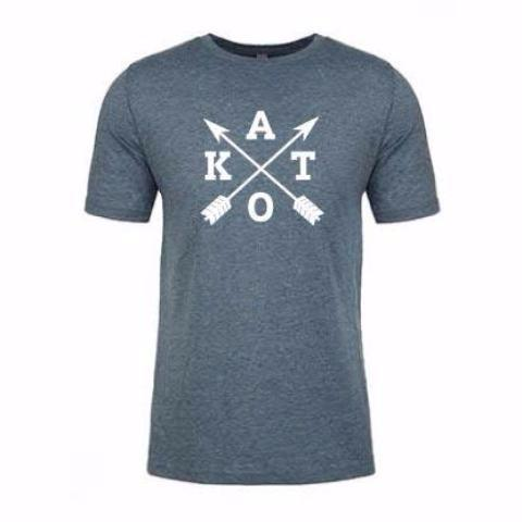 Kato Cross 2.0 Tee in Indigo