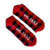 Kato Buffalo Plaid Socks