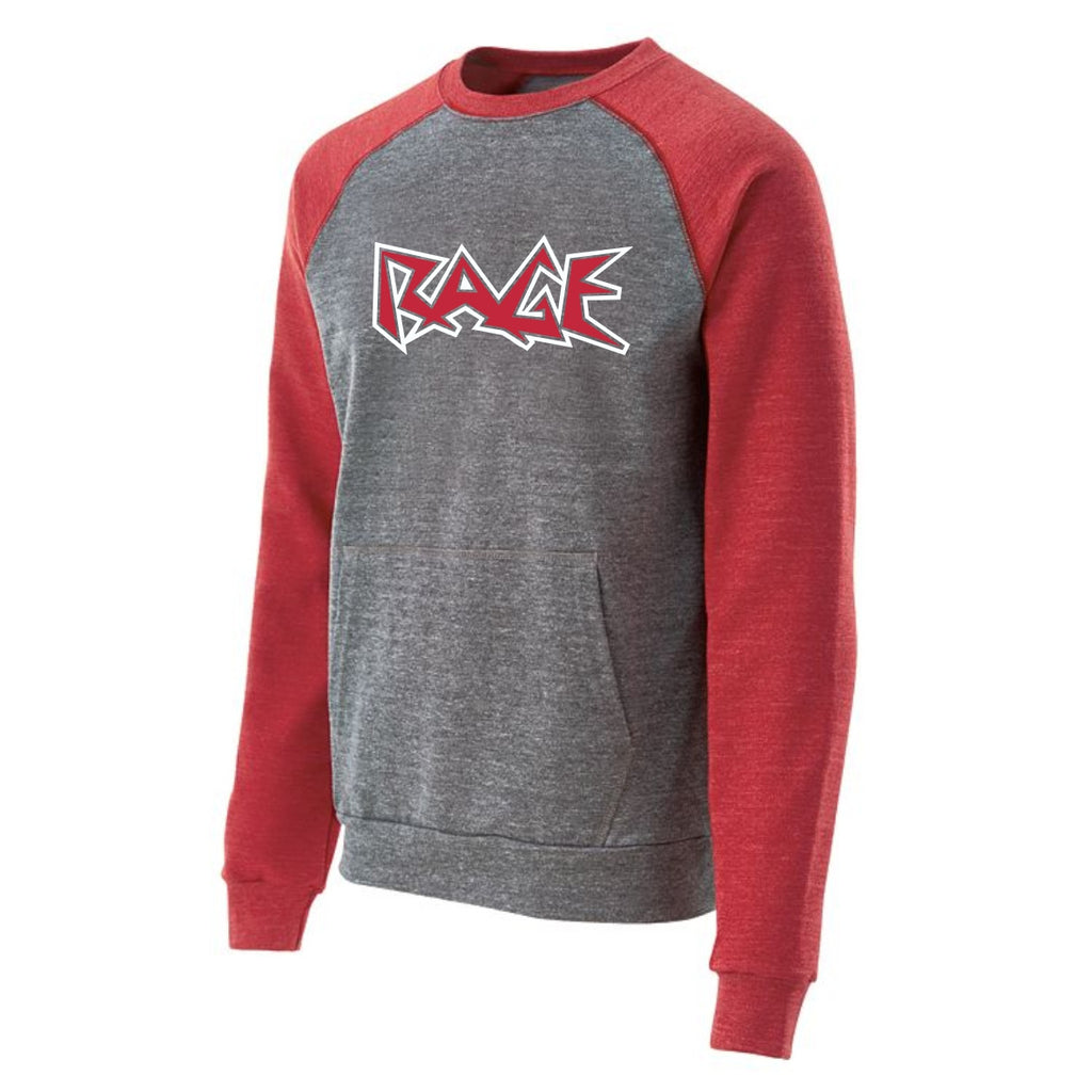 Roster Crewneck Sweatshirt with Rage Design