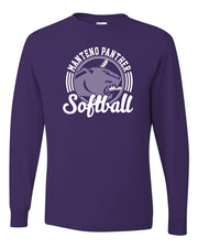Long Sleeve Shirt with MHS Softball Design