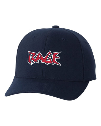 Rage Embroidered Pro-Formance Flex Fit Cap