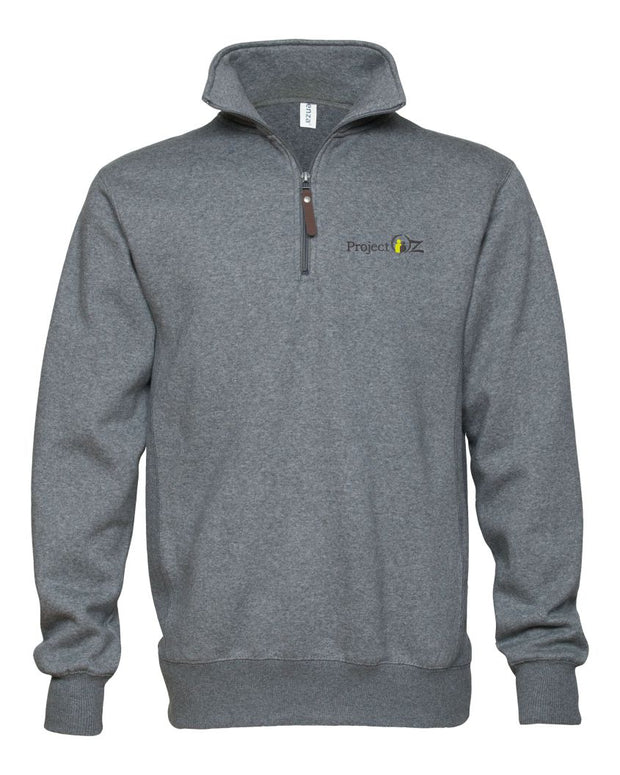 Project Oz Unisex Quarter Zip Fleece Pullover