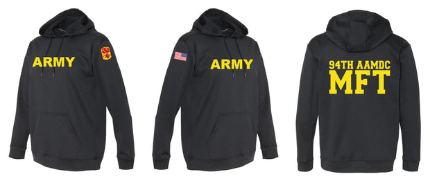 Army 94th AAMDC Black Performance Hoodie