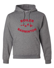 Adult BBCHS Badminton  Hooded Sweatshirt