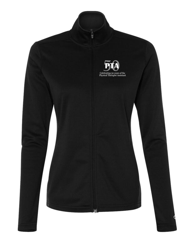 Ladies KCC 50 Years Physical Therapy Assistant Full Zip Jacket