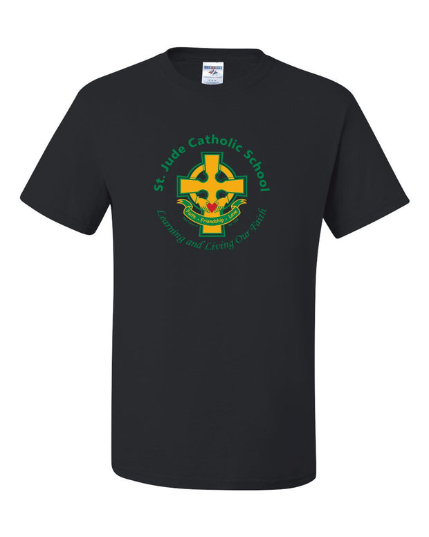 SPIRITWEAR St. Jude T-Shirt with Full Front Cross Logo