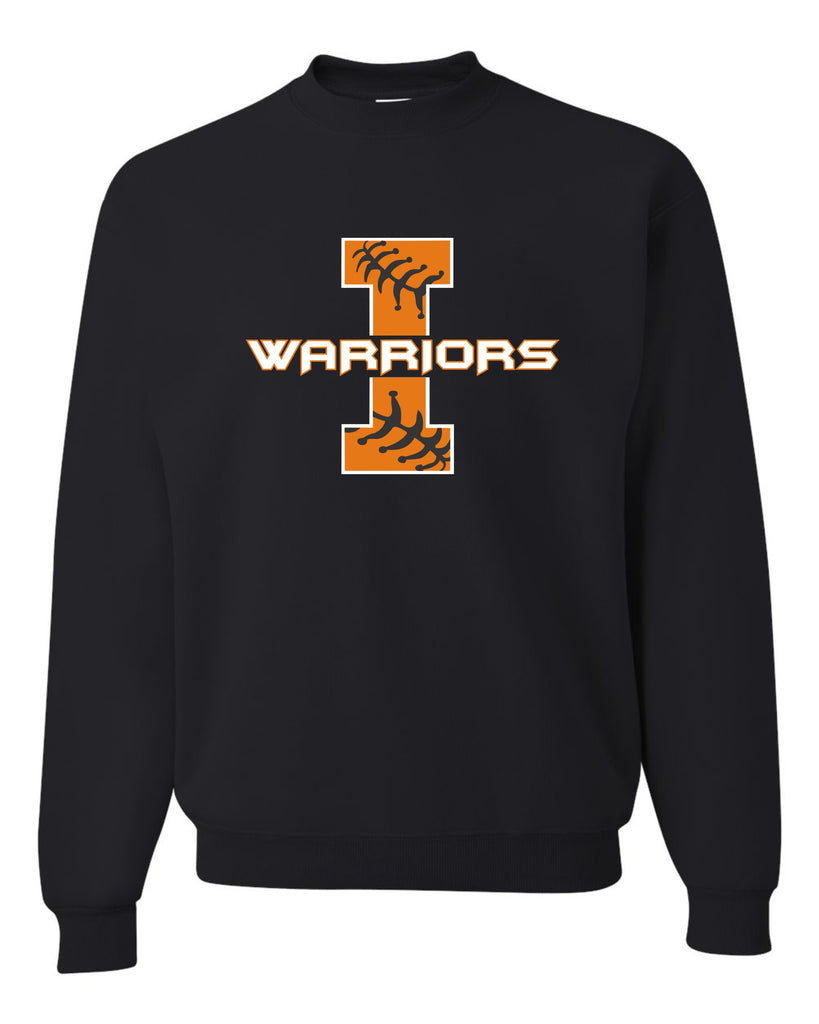 Crewneck Sweatshirt with Warriors I Design