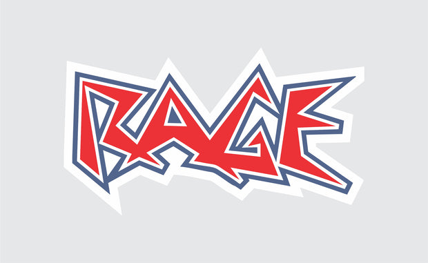 Rage Car Decal