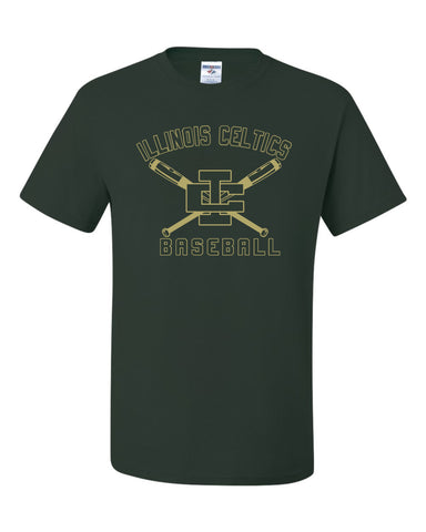 T-Shirt with Vegas Gold Celtics IC Baseball Design