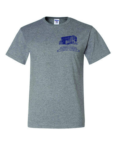 T-shirt with St. Joes Faithful and Grateful Church Logo