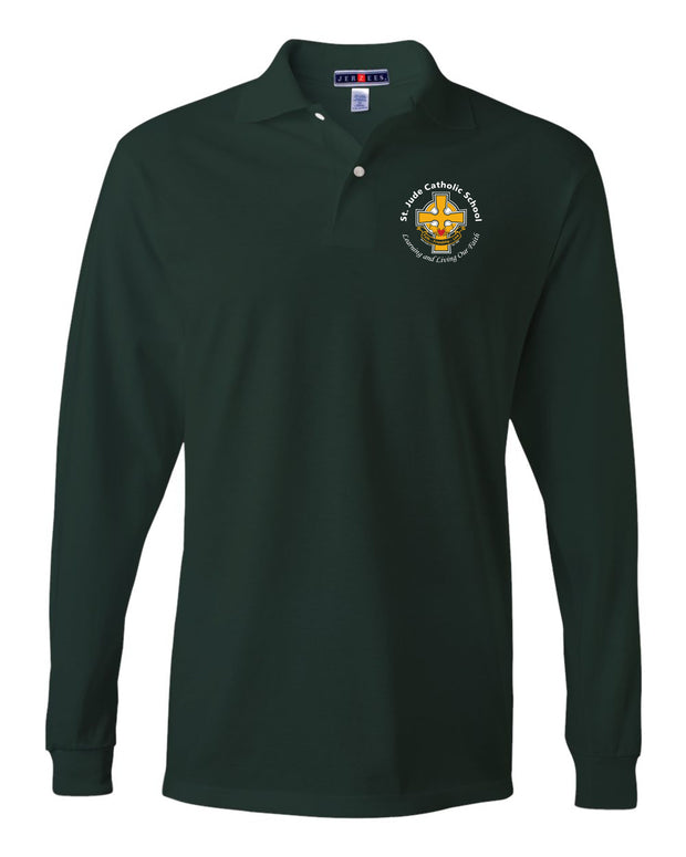 UNIFORM Longsleeve Polo AVAILABLE FOR PURCHASE AT THE SCHOOL (Do not purchase on Website)