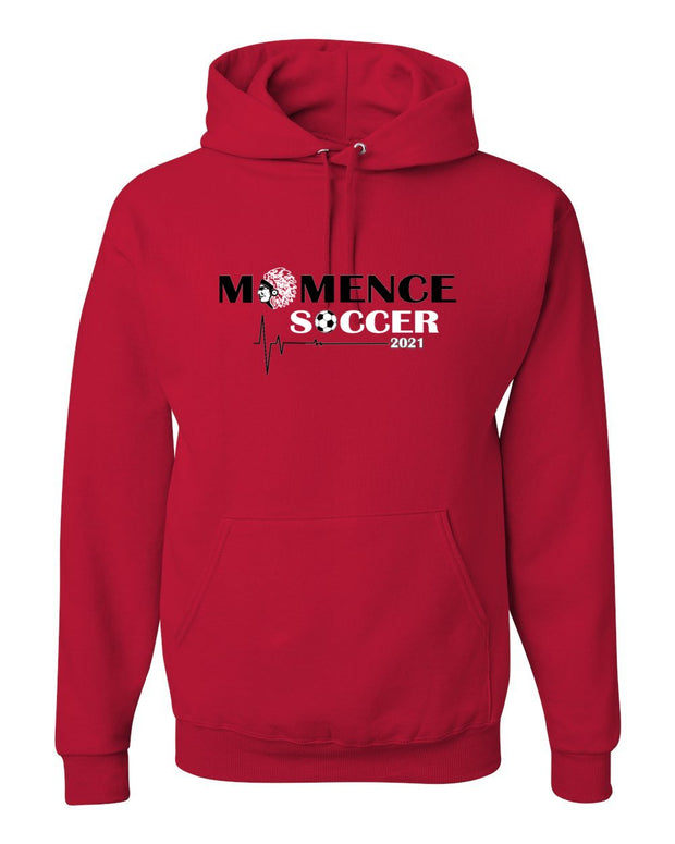 Adult Momence Boys Soccer Hooded Sweatshirt