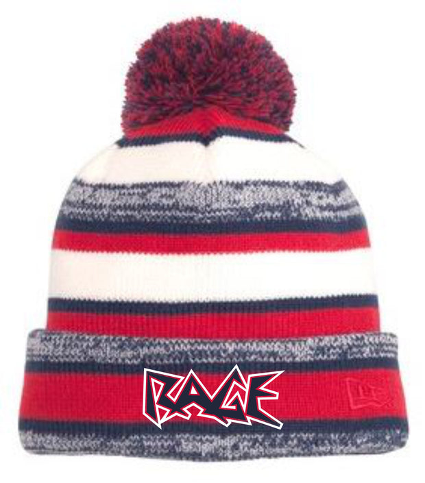 Rage Embroidered Fluffy Beanie