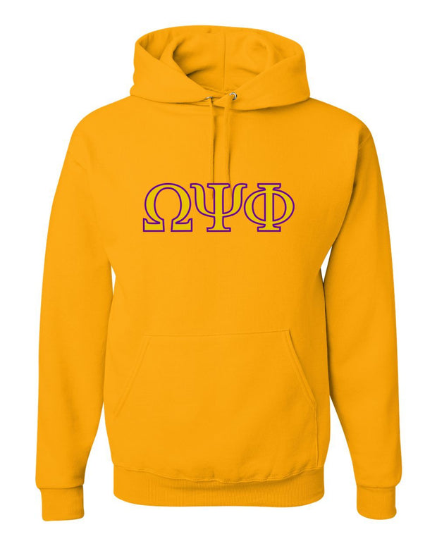 Adult Omega Psi Phi Hooded Sweatshirt