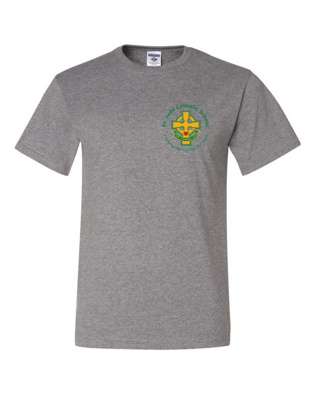 Adult St. Jude T-Shirt with Left Chest Cross Logo