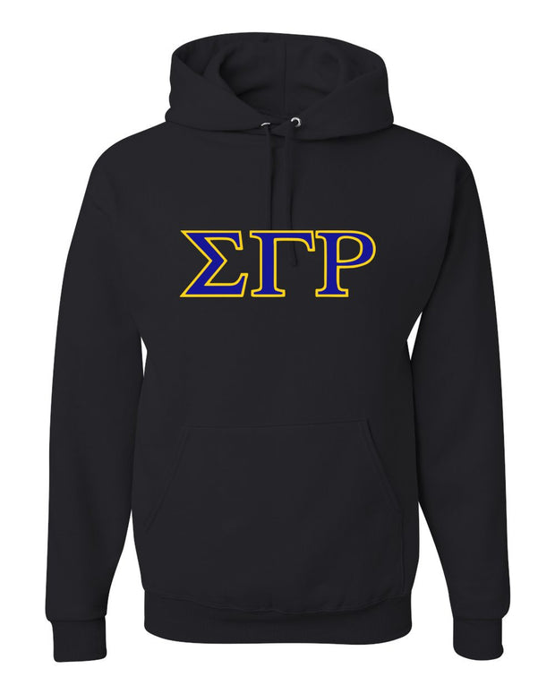 Adult Sigma Gamma Rho Hooded Sweatshirt