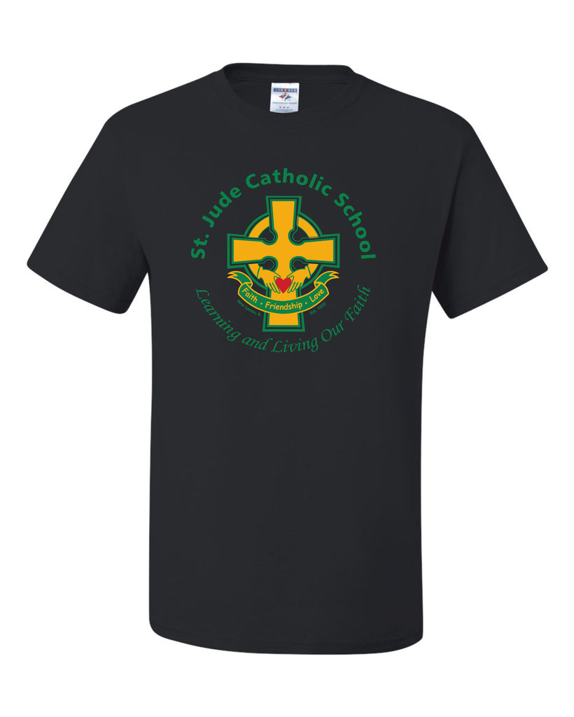 SPIRITWEAR Youth St. Jude T-Shirt with Full Front Cross Logo