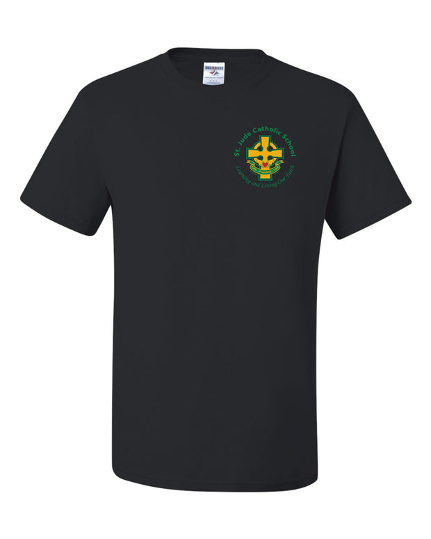 SPIRITWEAR Youth St. Jude T-Shirt with Left Chest Cross Logo