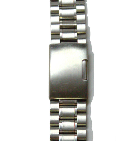 Silver Stainless Steel Watch Band