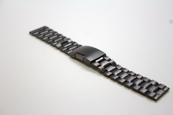 Space Gray Stainless Steel Watch Band