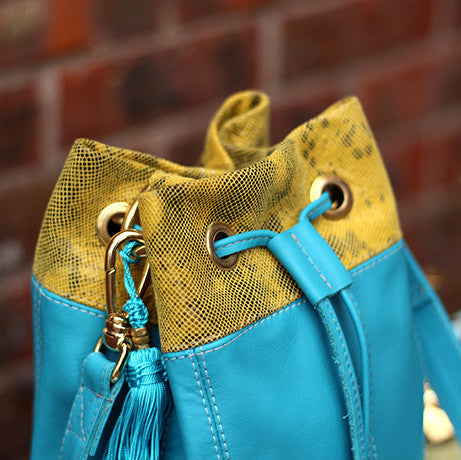 The Pigalle: Turquoise & Yellow PoP