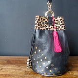 The Pigalle: Black, Bling & Leopard (Roaaarrrr!)