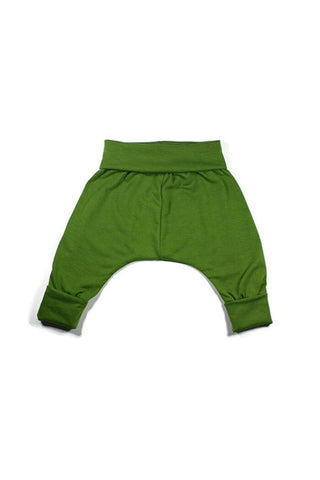 Harem Pant - Green Hearts