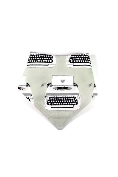 Reversible Bandanna - Typewriters