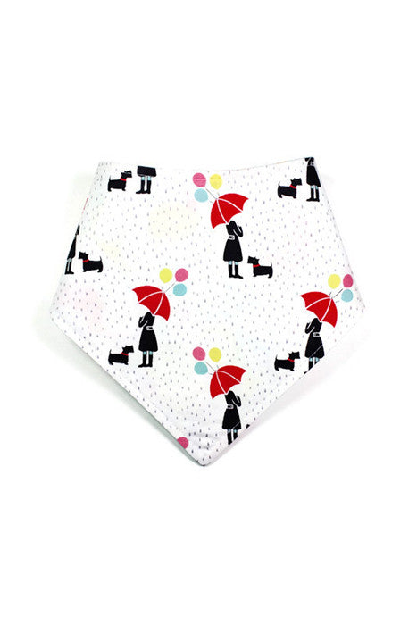 Reversible Bandanna - Red Umbrella