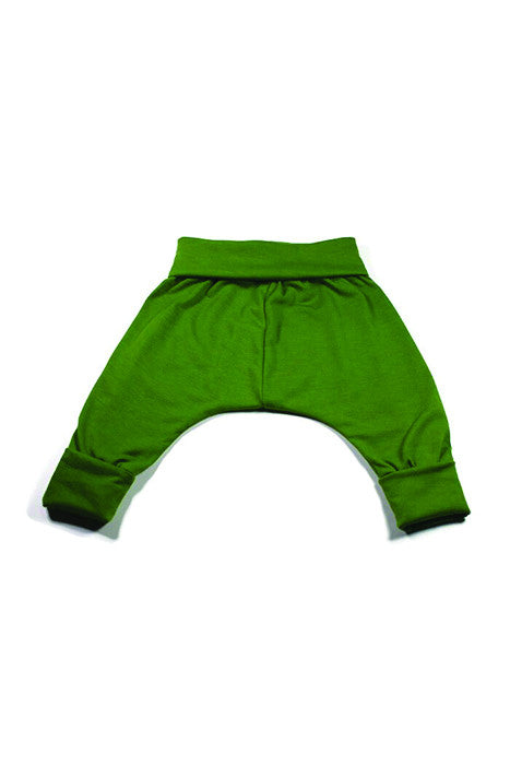 Harem Pant - Kelly Green Knit