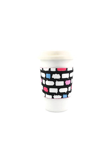 Reversible Coffee Sleeves - Thought Bubble