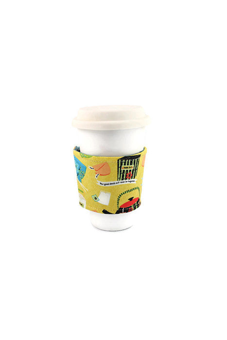 Reversible Coffee Sleeve - Chinese Takeout