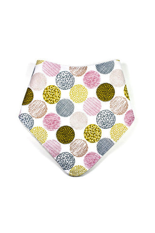 Super Bandanna - Textured Large Polkadot