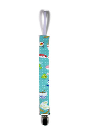 Soother Strap - Triangle Sprinkles, Cream