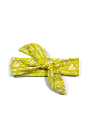 Knotted Headband - Golden Triangle Knit