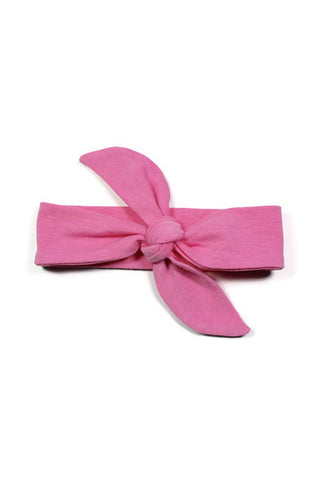 Knotted Headbands - Hot Pink Knit