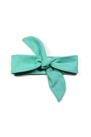 Knotted Headbands - Mint Green Knit