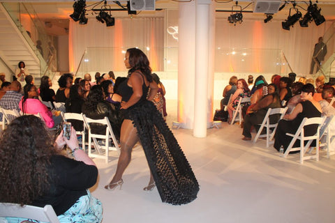 FFFWeek Legend Wyinnetka Aaron is modeling lingerie by Tia Lyn