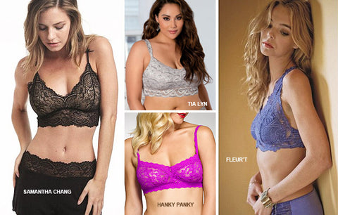 Tia Lyn is front and center leading the bralette trend