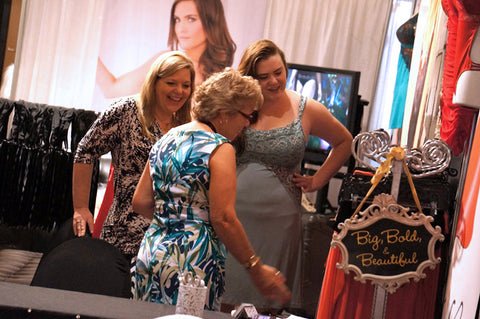 Tia Lyn exhibiting at ILS International Lingerie Show in Las Vegas
