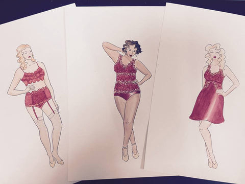 Tia Lyn's Fashion Design Sketches