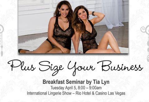 Plus Size Your Business Seminar by Tia Lyn at The International Lingerie Show