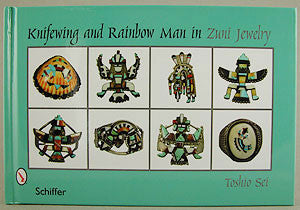 Knifewing & Rainbow Man in Zuni Jewelry by Toshio Sei