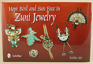 Hopi Bird & Sun Face in Zuni Jewelry  by Toshio Sei