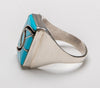 "Iconic Channel Inlay ""Hummingbird"" Ring"