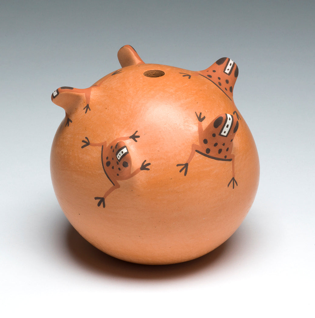 Five Frogs Seed Pottery